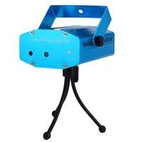 best light tripod - 2017 Best Sale Voice Control RGB Laser Landscape Projector Light Party KTV Bar DJ Stage Lighting Effect with Tripod EU US PLUG