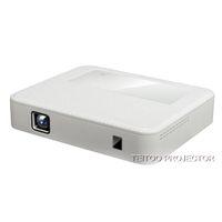 Vente en gros Smart Android 4.4 Projecteur DLP 1 Go + 8 Go 2000 Lumens 854 * 480 Dual Wifi Bluetooth Haut-parleur intégré HiFi pour la télévision Accueil Film Theatre