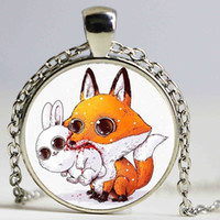 Pendant Necklaces South American Women's Necklace The Fox Nick and The Police Bunny Rabbit Judy Animals Pendants For Kids Christmas Best Friends Pendant Charms