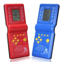 Wholesale Top Selling Special Offer Childhood Classic Tetris Hand Held LCD Electronic Game Toys Fun Brick Game Riddle Educational Toys