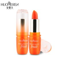 Wholesale lip balm fruits enzymes colors moisturizing lipstick beauty and health care tool high quality