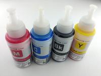 Wholesale 4color dye ink ML T6641 T6644 Refill Ink Kit For Epson L100 L200 L211 L301 L303 L351 L358 L551 L558 L355 Printer