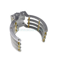 Wholesale Large Clamp Mechanical Robot Claw Manipulator Gripper Metal Aluminum Hand Grips Paw