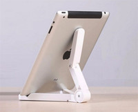 aluminium angle brackets - Foldable Adjustable Angle Tablet Bracket Stand Holder Mount for iPad Tablet PC Mobile Phone Holder Less Than Inch