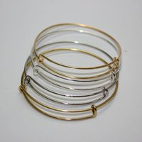 Wholesale Alex and ani style Multi Size Fashion Wiring Copper Metal Expandable Adjustable Blank Charms Bracelet Bangle For DIY Beads Pendants