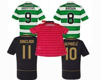 best celtics - NEW Outdoors Celtics Jersey SINCLAIR DEMBELE BROWN GRIFFITHS home away rd green balck Top best quality Sports shirts