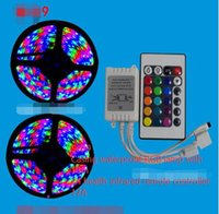 Wholesale 09 LED lights with V colorful marquee with remote water waterproof SMD LED strip lamp with signs of motorcycle