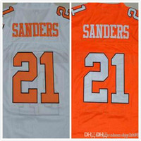 Wholesale Barry Sanders Jersey Mens Oklahoma State Jersey College Jerseys Full Stitched Embroidery Logo Red White Size S XL
