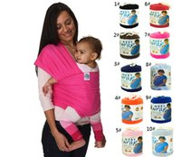 Wholesale 10 Colors Kid Wrap Kids Slings Baby Carrier Gears Strollers Gallus Baby Carrier Towels wrap wraps coulorful Easy to Use DHL Free D001