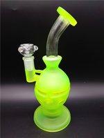 big green egg - Heady Big beaker glass bongs fab egg bongs original Fluorescent green Egg What pipe recycler bongs oil rig glass bongs