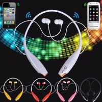 al por mayor accesorios de moda para el teléfono móvil-5 colores moda electrónica inalámbrica Bluetooth estéreo auriculares de música auriculares Universal Neckband para teléfonos celulares accesorios 2928