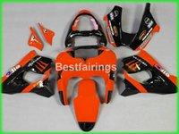 achat en gros de plastiques zx9r-Kit carénage plastique pour moto Kawasaki Ninja ZX9R 98 99 carénage moto noir rouge set ZX9R 1998 1999 TY55