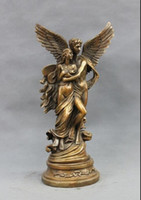 beauty cupid - Western Bronze carving Cupid God of love and beauty belle Art statue