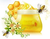 Wholesale eauty and nail care Honey Whitening Moisturizing Hand Cream Hand Mask Hand Wax Foot Wax Wrinkle Removal Paraffin Bath Skin Care Beauty