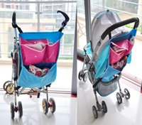 baby caddy - Promotion Toddler Blue Baby carriages Baby Toddlers Pushchairs Prams By Stroller Bag Tidy Caddy Storage Organizer T1031