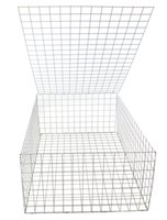 Wholesale 3mm m x m x mGalfan Gabion Basket High Qualiy Weled Gabion Mesh for Retaining Wall and Soil Reservation