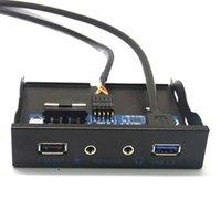 20Pin USB 3.0 USB 2.0 + 2.1A питания Зарядка + кабель HD Audio Mic Разъем передней панели