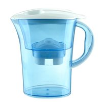 Wholesale 2017 Alkaline water pitcher with fliters water purifiers with Activated Carbon Filter Cartridge water bottles Christmas gifts