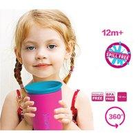 Wholesale New Water Bottles NO BPA American children kids learn to drink cups bottle