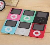 Wholesale LCD Screen MP3 MP4 Multi Media Video Player Music FM Radio With Retail Box