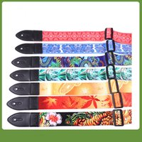 Wholesale Manufacturers selling new guitar straps flame guitar straps skull guitar straps guitar straps