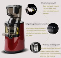 Wholesale 2016 Top Rated Supplier Hot selling the most popular Large Caliber Slow Juicer