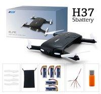 La plus nouvelle JJRC originale H37 Gyro ELFIE WIFI FPV 720P HD de gyro à 6 axes RC Quadcopter pliable G-capteur Drone d'ego de RC RM7429 VS H31