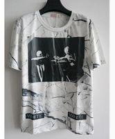 Men Crew Neck Short Sleeve Palace T Shirtnew style Kanye West designer virgil abloh off white t shirt skull marble 3d printed brand tshirt for men women casual tees