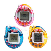 battery cat toy - 90S Nostalgic Pets Virtual Cyber Pet Game Child Toy Key Buckles