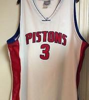 Wholesale Ben Wallace jersey Detroit Big Ben Basketball Jerseys Blue White Top Quality Double Stitched Basketball Jerseys