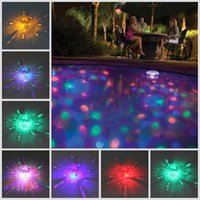 baby underwater - New LED Underwater Waterproof Durable Floating Lamp Disco Multi Color Party Light Baby Pool Spa Tub Bulb
