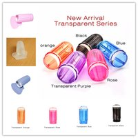 Wholesale 2017 New CM Transparent Stamp Nail Art Plastic Plate Clear Jelly Stamper Scraper Tool Set Manicure Polish Stamp Image Kit