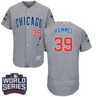 Wholesale Men s Original Chicago Cubs Jason Hammel World Series Bound Flexbase Authentic Collection Black Blue White Baseball Jerseys For Sale