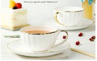Wholesale new European Coffee Cup Set Creative Pumpkin Cups British Afternoon Tea Tea Set