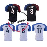 altidore soccer - USA Thailand Quality BRADLEY DEMPSEY ALTIDORE soccer jerseys uniforms Football Jerseys shirt Embroidery Logo camiseta futbol