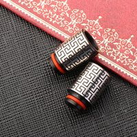 510 goutte à goutte style chinois labyrinthe-comme pointe en acier inoxydable goutte pour cigs cigs e DHL libre