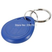 Venta al por mayor- 20PCS / lot EM4305 Copia Reescribible Escritura Reescribir Duplicar RFID Tag Proximidad ID Token Key Keyrings Anillo 125Khz Tarjeta de Acceso