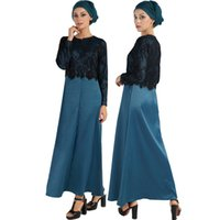 Wholesale Fashion Turkish women clothing muslim print dress Islamic