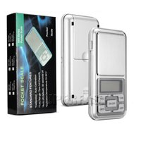 Wholesale MH g g Portable Pocket Scale Functional LCD Scale Electronic Digital Scale with Retail Package