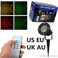 Wholesale Laser Garden Light Moving Romantic Waterproof Outdoor Holiday Party Decorative Landscape Lawn Tree Light with Remote Control