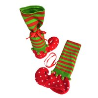 Wholesale Christmas decorations new wine sets wave point of the wizard socks candy bags Christmas gift bags