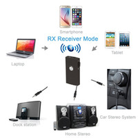 tv transmitter and receiver - Bluetooth Transmitter and Receiver Splitter in Audio Wireless Adapter Stream Music Everywhere Ideal for TV Car Stereos PC Laptop MP3