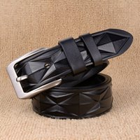 2016 Cinturones de lujo de la marca de fábrica famosa del nuevo diseñador Cinturones de los hombres Cinturón de la cintura masculina Cowskin verdadero Cuero y correa de la hebilla del Pin de la lona