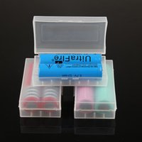 battery storage organizer - battery storage case plastic battery storage container pack for ecig mechanical mod battery JF