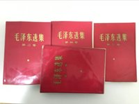 Wholesale China s limited edition full set Selected Works of Mao Zedong red version collector Chairman MAO old books collection study