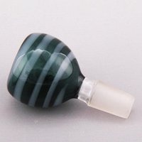 artificial glasses - Glass bowl Lollipop stripe colorful glass bowls colorful For Smoking Water Pipe Hookahs for Ashcatcher oil rig Artificial blowing