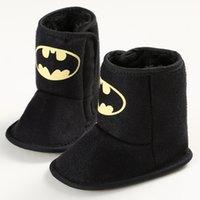 batman boots for kids - Baby First Walkers Baby Boots Cute Cartoon Batman Soft Bottom Boots for Kids
