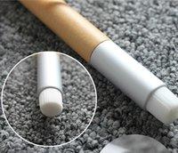 acne samples - new arrive sample Nose clean brushes Solid Wood Rod Short Handle Nasal Wash Brush Soft Fiber Brush Head