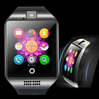 for iOS - Apple Norwegian Passometer Bluetooth Smartwatch Curved Screen Smart Watch Apro Q18 Support NFC SIM TF GSM Video with camera smartwatch For IOS and Android phone