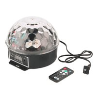 Wholesale new fashion and high quality Colors W Crystal Magic Ball LED Stage Of Light Control Laser Projector